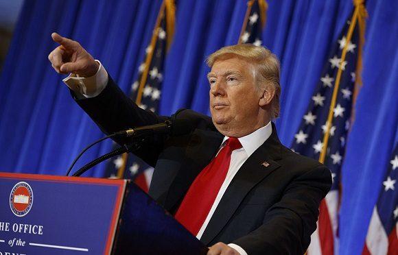 El presidente de Estados Unidos, Donald Trump. Foto: Archivo.