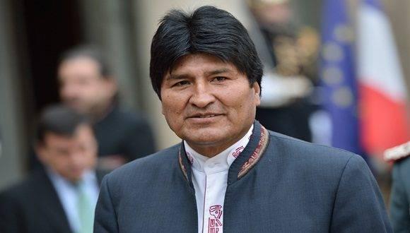 Noticias> América Latina Evo Morales ratifica que su afección no pone en riesgo su vida. Foto: AFP.