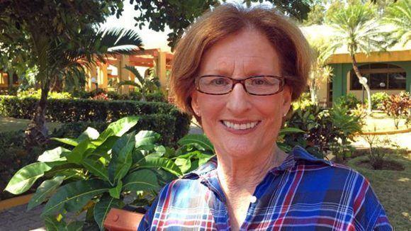 """""""Por primera vez tengo esperanza"""", dice Ingels, que tiene cáncer de pulmón en fase 4. Foto: BBC."""