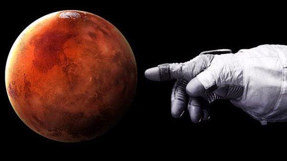 Planeta Marte. Foto: Archivo.