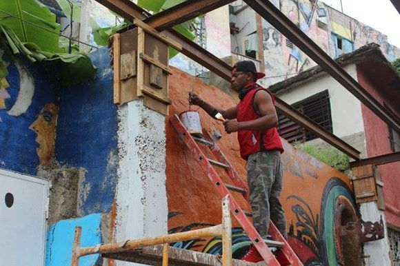 Callejón de Hamel. Foto: Karla Castillo Moré/ Cubadebate.