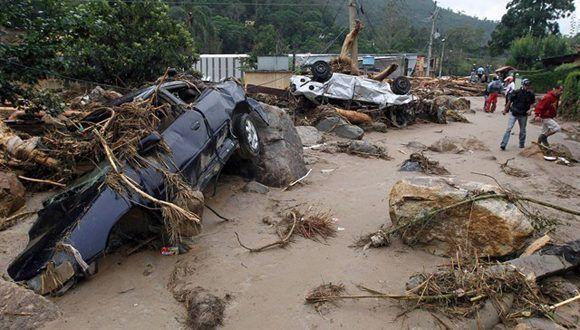 Seis muertos y miles de desplazados por las lluvias en el noreste de Brasil. Foto: Reuters.