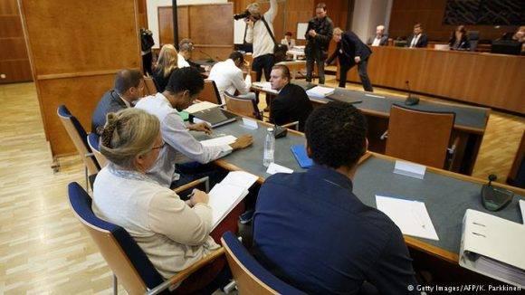 Sesión del juicio a voleibolistas en 2016. Foto: Getty Images