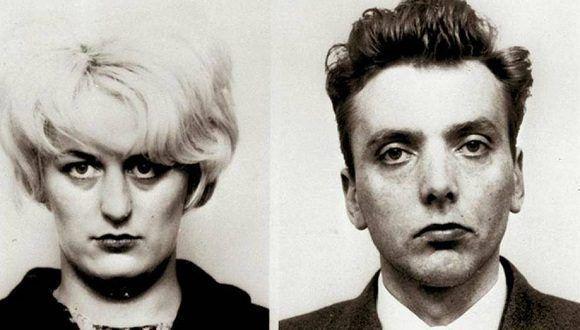 Myra Hindley e Ian Brady, en su ficha policial. Foto: El confidencial.