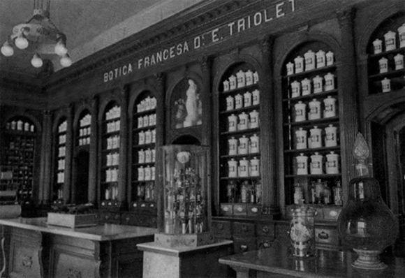 Exposición de los envases originales en el Museo Farmacéutico de Matanzas. Foto: Matanzas City.