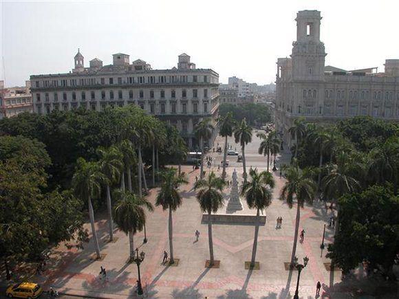 Parque Central de La Habana. Foto tomada de Habana Radio.