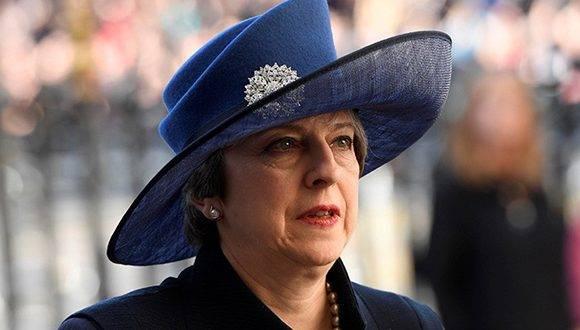 Theresa May es la favorita según los sondeos. Foto: Archivo