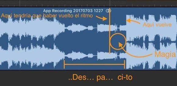 """Con este gráfico, Nahúm García explica la """"magia"""" de Despacito. Imagen: @nahum / Twitter."""