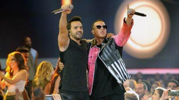 """Luis Fonsi y Daddy Yankee, intérpretes de """"Despacito"""". Foto: Getty Images."""