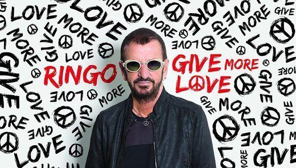 Portada del nuevo álbum de Richard Starkey, más conocido como Ringo Stark. Foto tomada de Twitter.