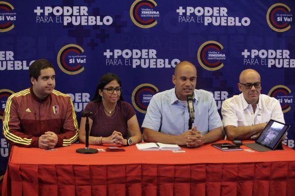 Rueda de prensa del Comando de Campaña Zamora 200
