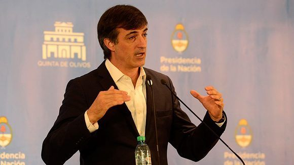 Esteban Bullrich, precandidato a primer senador de Cambiemos en la Provincia de Buenos Aires. Foto. El Clarín.
