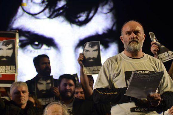 Sergio Maldonado, hermano del joven desaparecido hace 80 días. Foto: Kaloian Santos Cabrera.